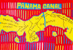 Mola map of Panamá